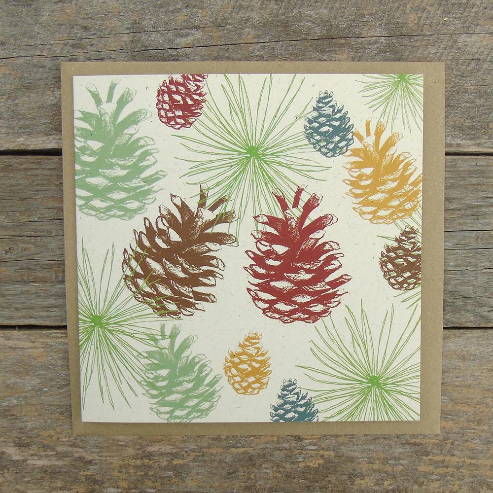 LB10 Pinecones card web