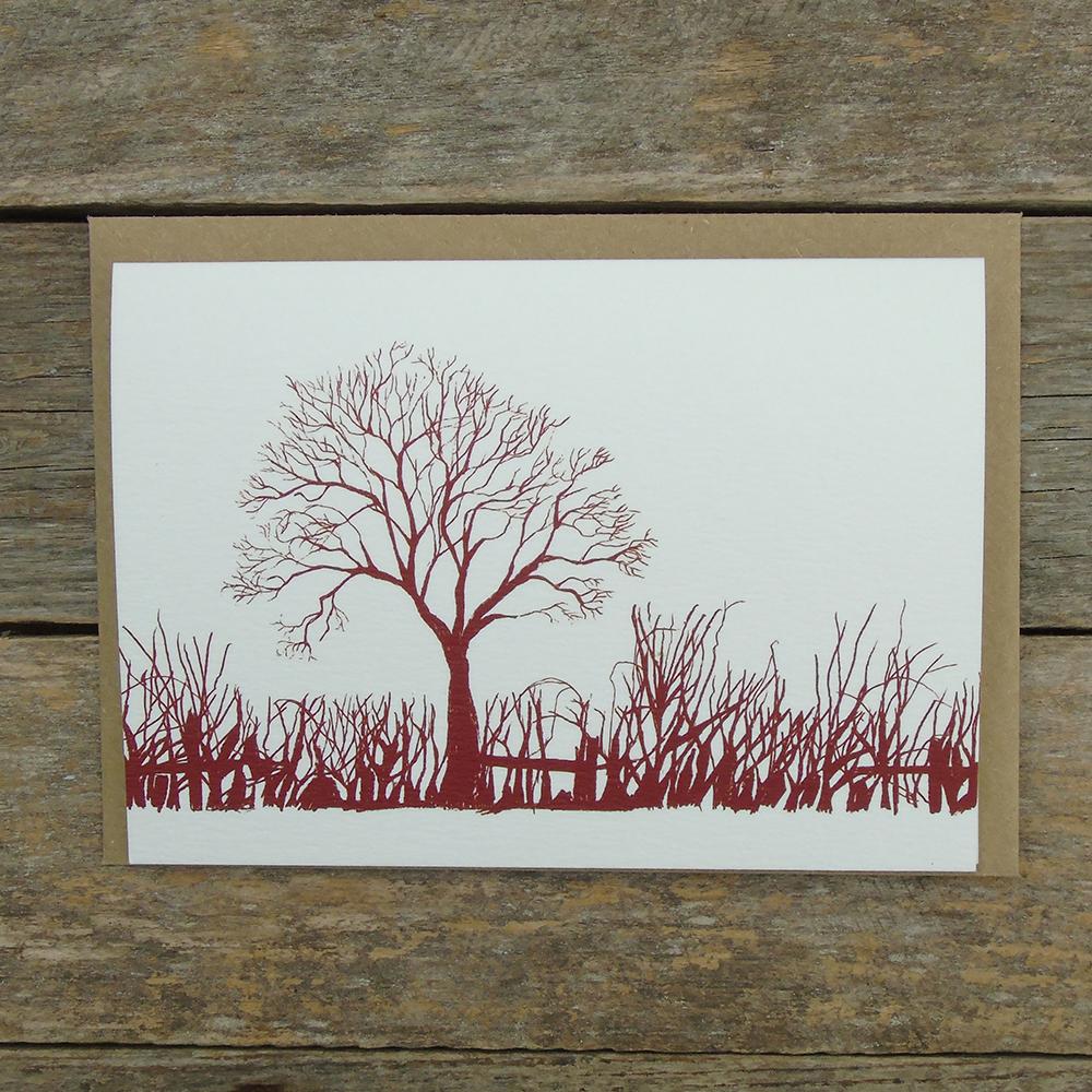 FD14 Winter tree card web