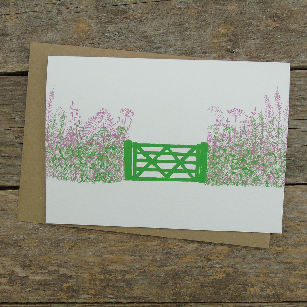FDO5 summer hedgerow card web