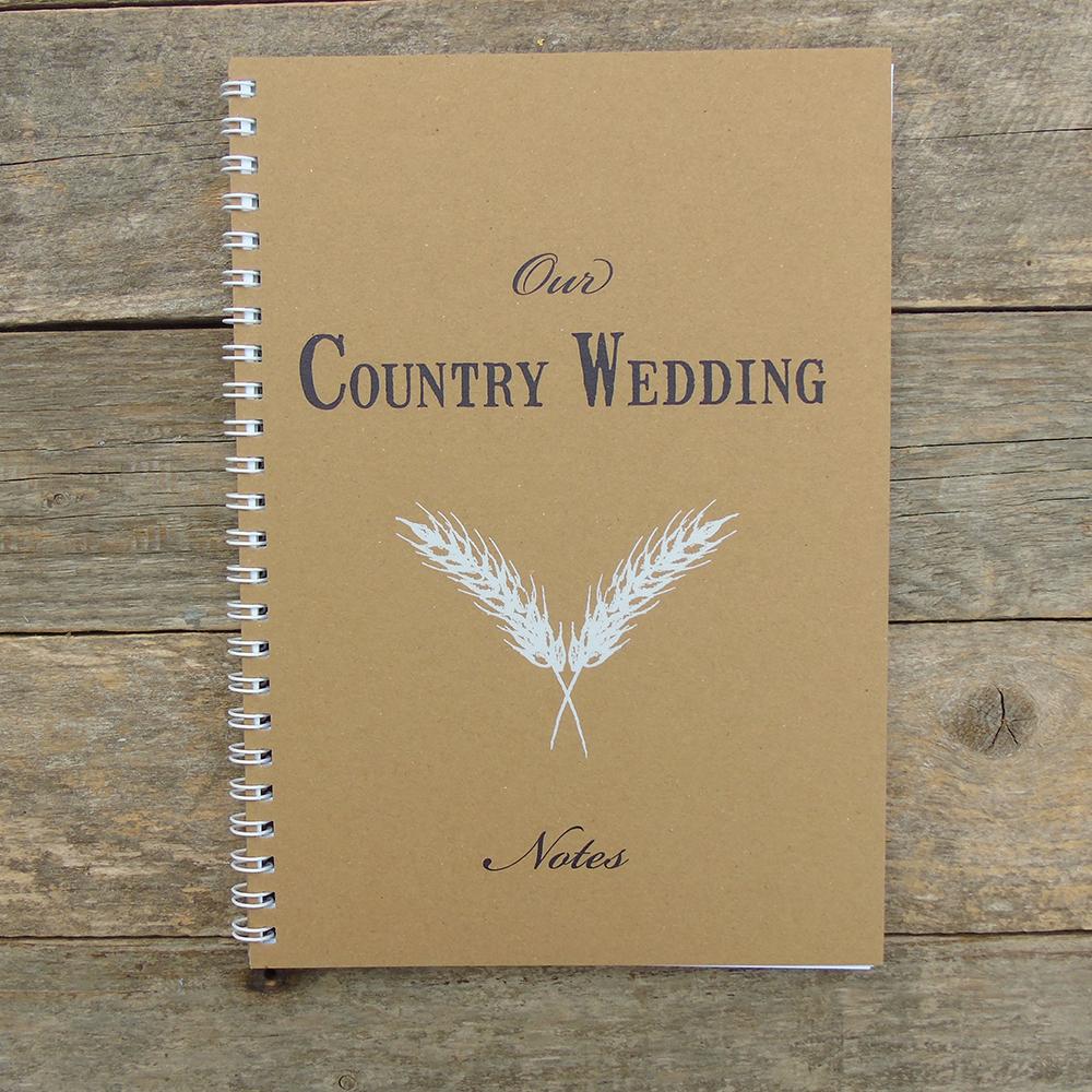 A5 Wedding notebook web