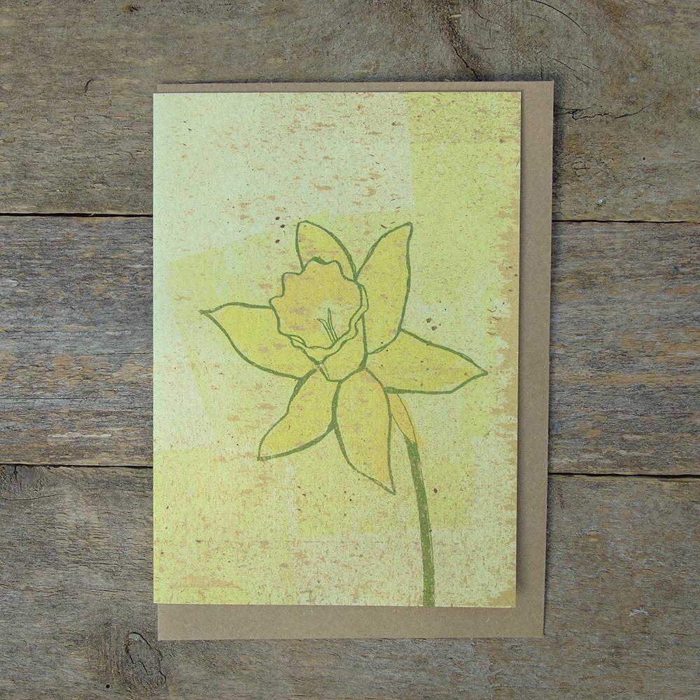 SP23 speckled Daffodil card web