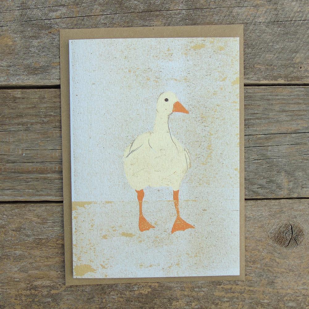SP27 speckled Goose card web