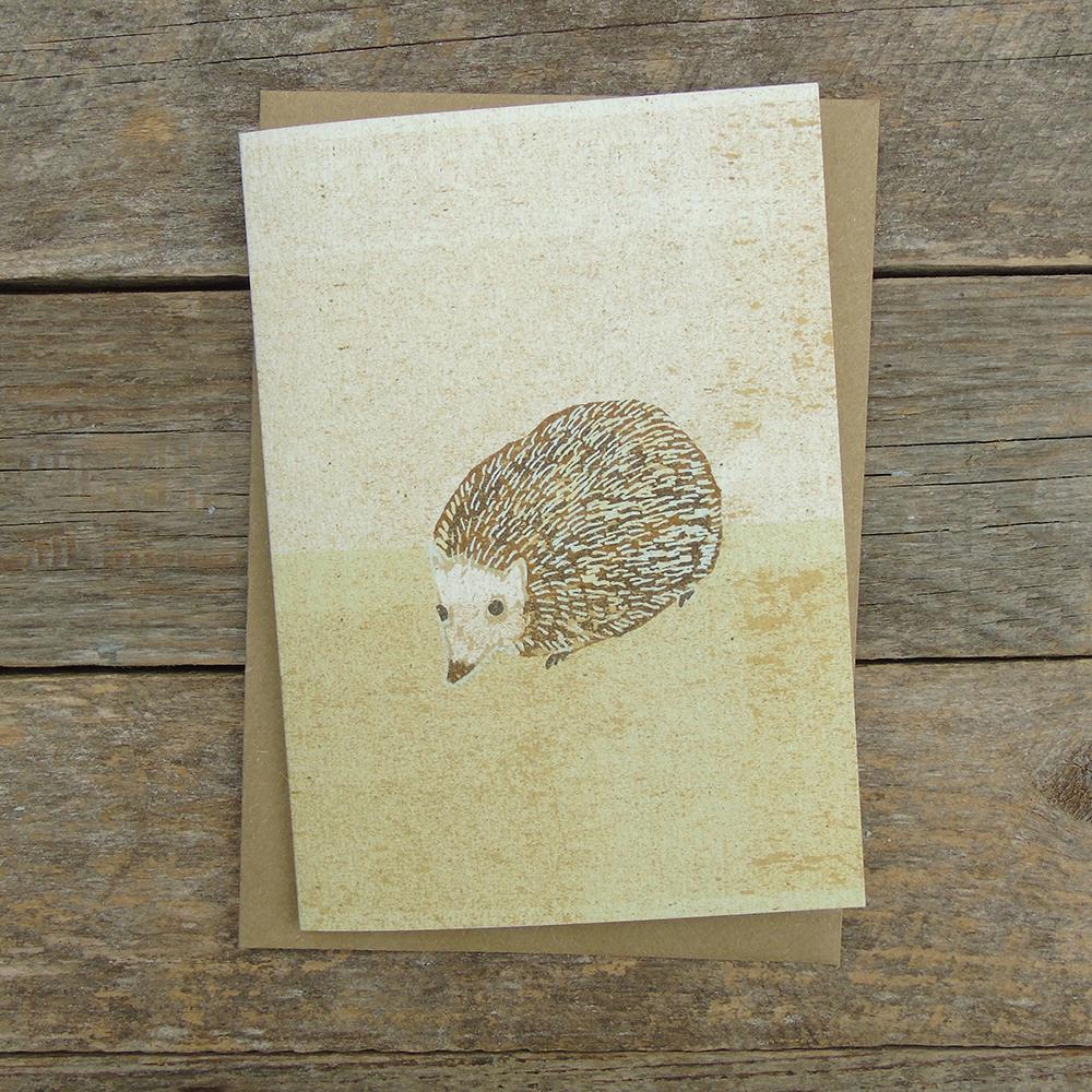 SP33 speckled hedgehog card web