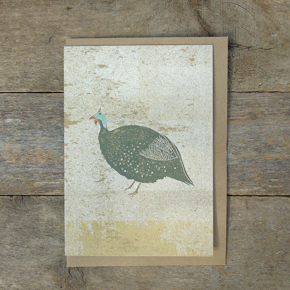 SP35 guinea fowl card web
