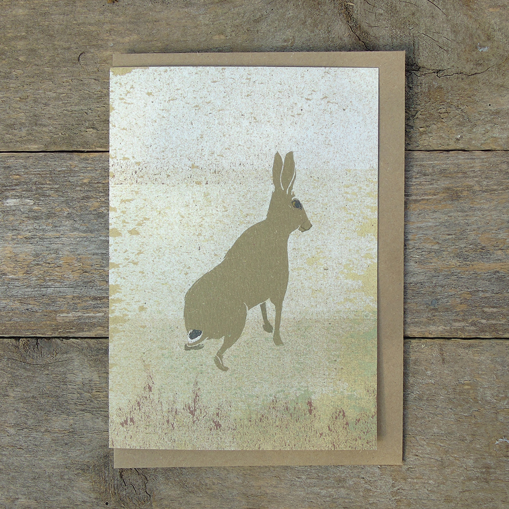 SP38 speckled Hare Card web