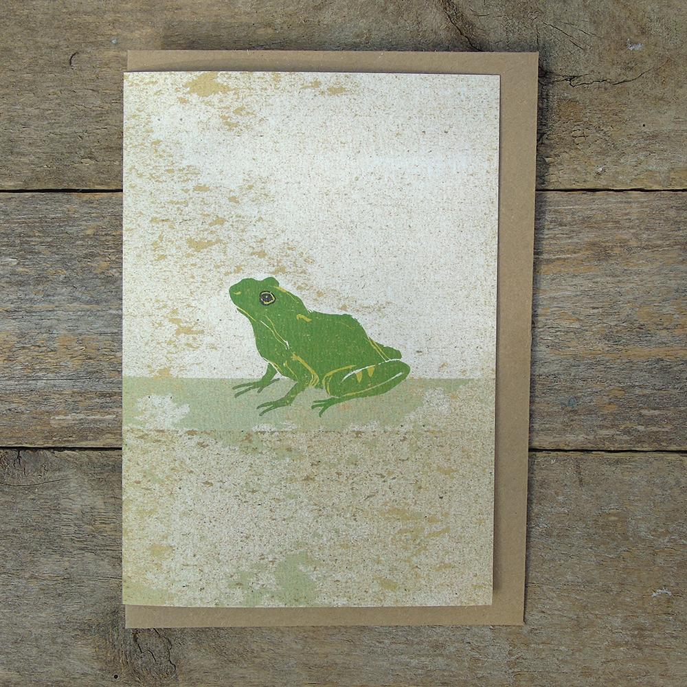 SP39 speckled Frog card web