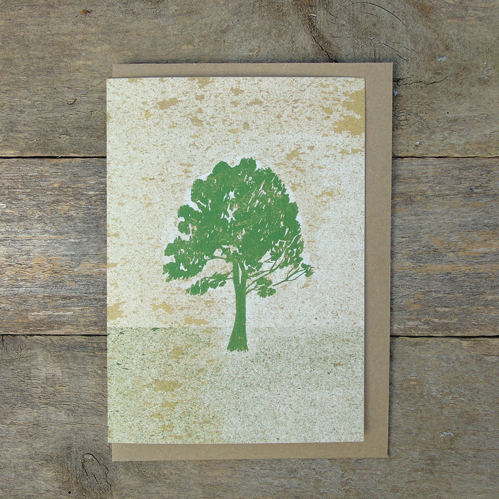 SP44 speckled Tree card