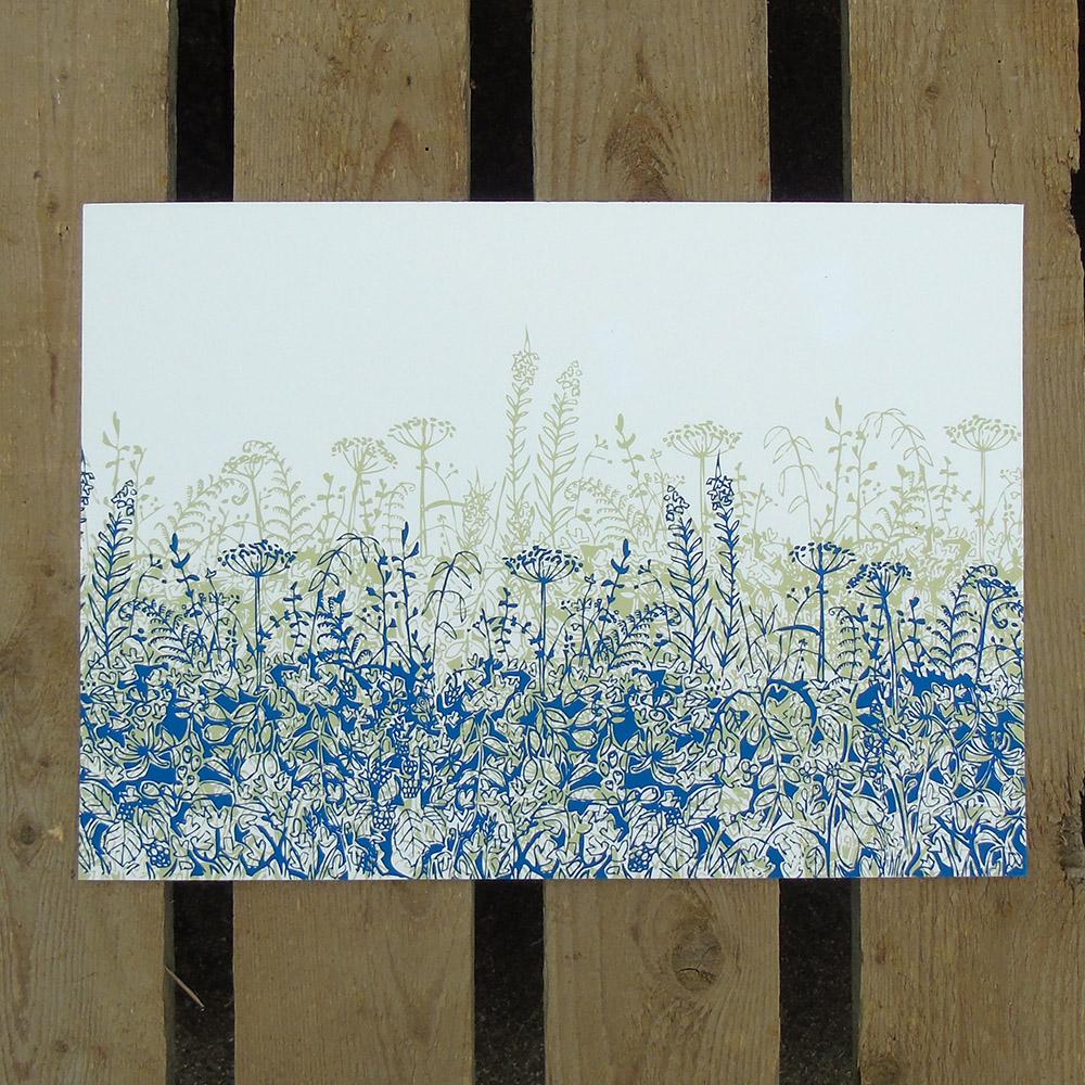 a4 hedgerow print