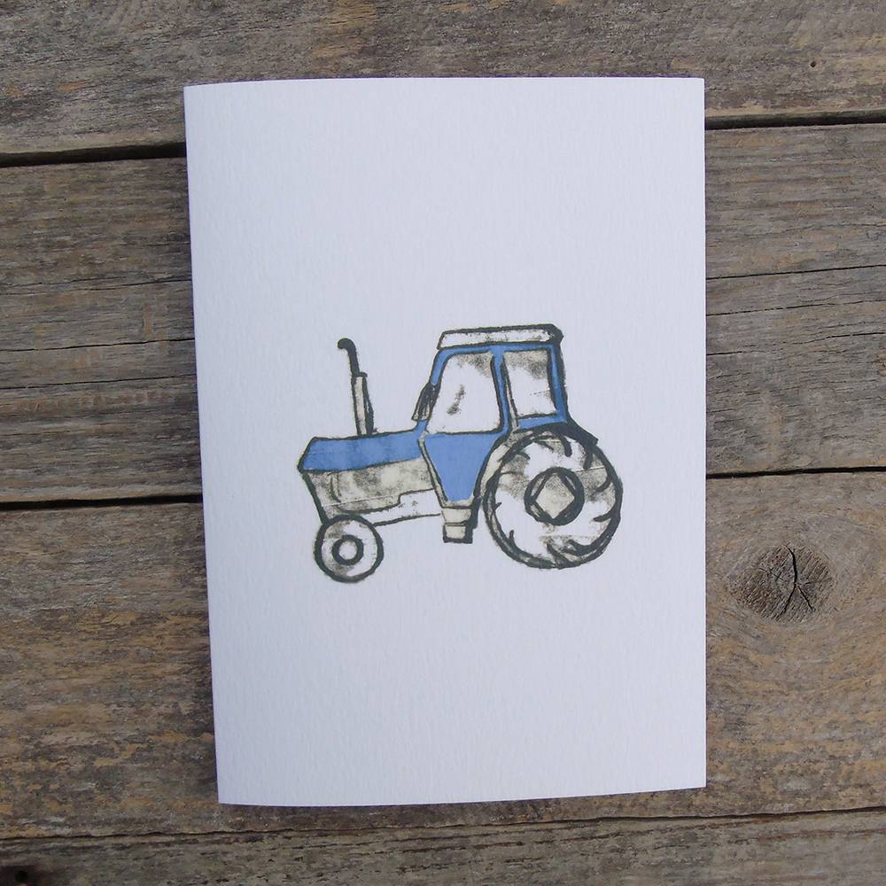 blue tractor card web