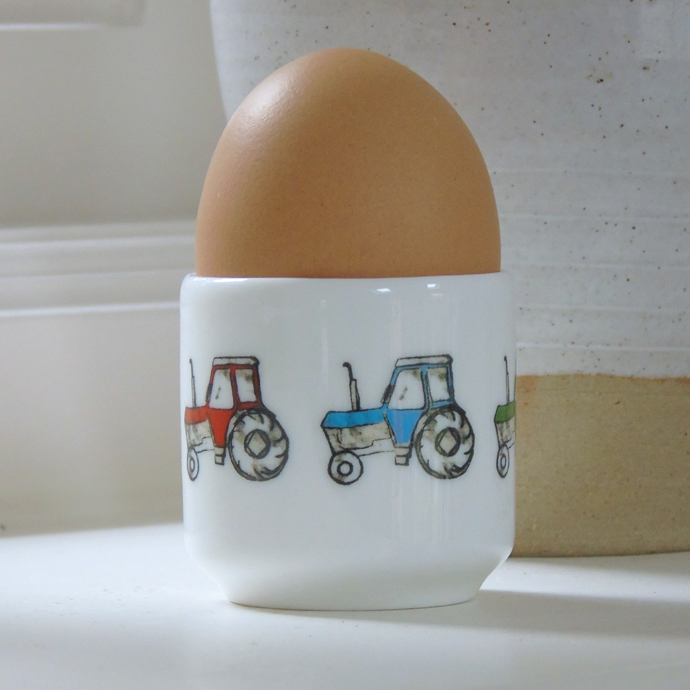 flat bottom egg cup