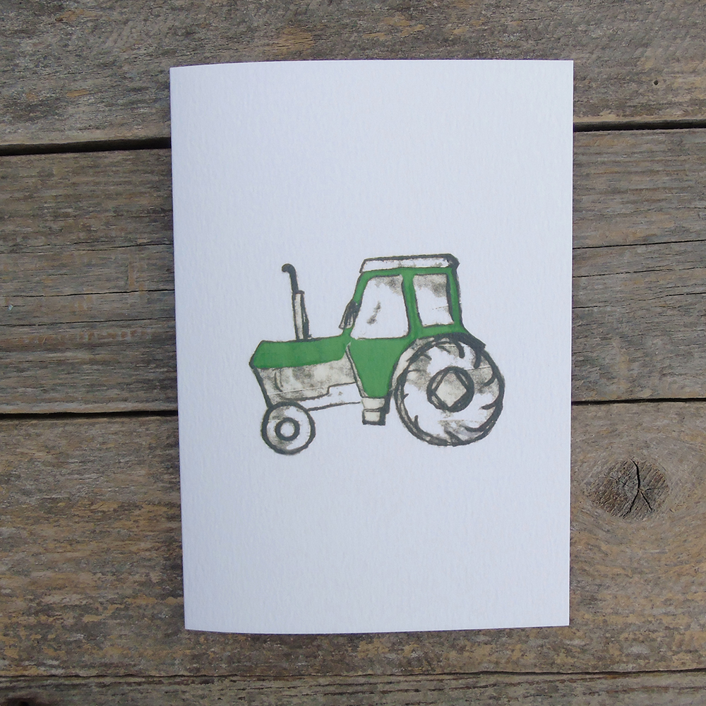 green tractor card web