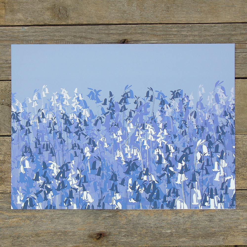 bluebells print