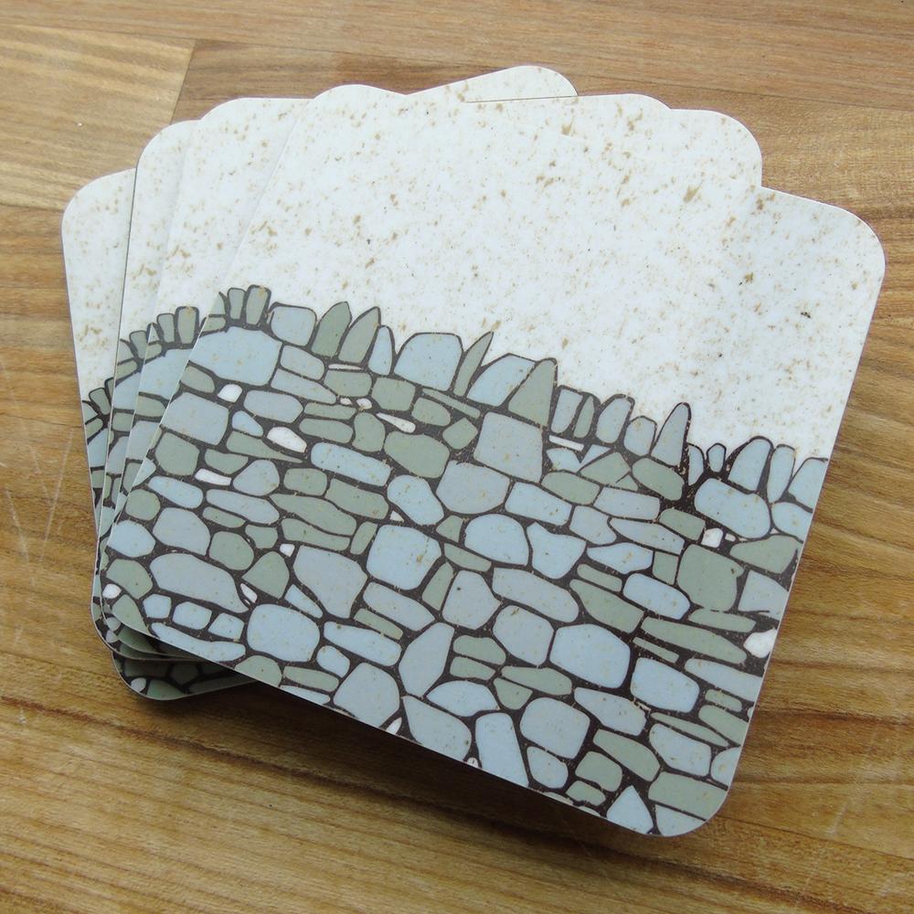 drystone wall coasters