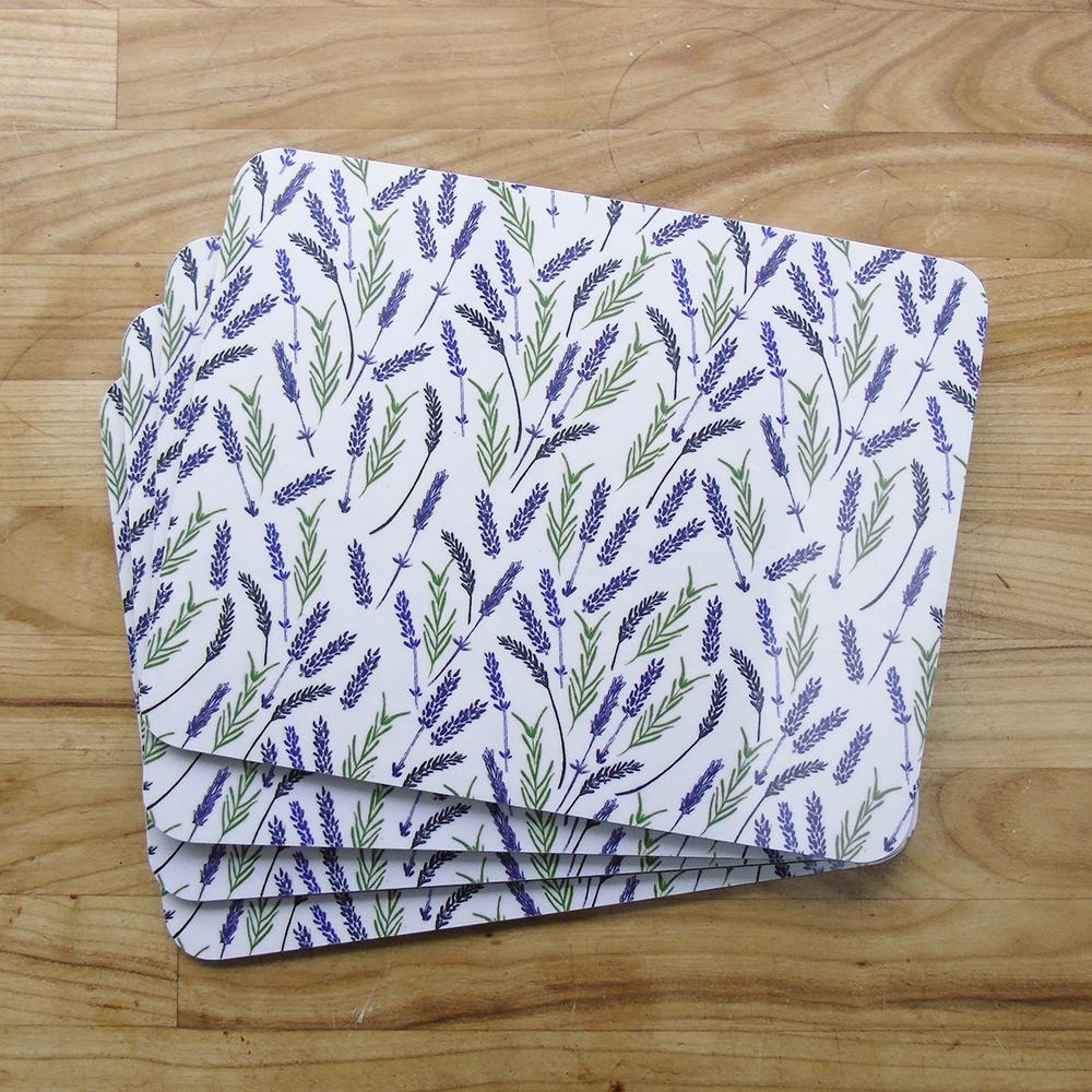 lavender placemat