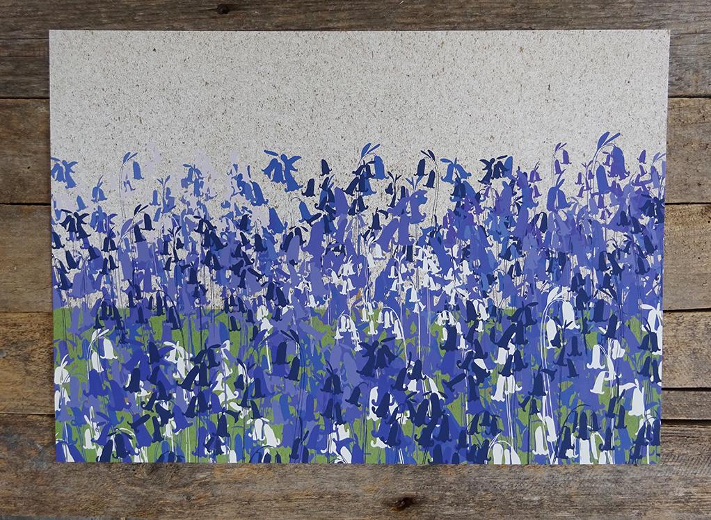 bluebells 2020 print